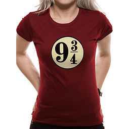 T-shirt Harry Potter Plataforma 9 3/4