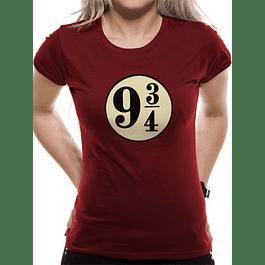 T-shirt Harry Potter Plataforma 9 3/4