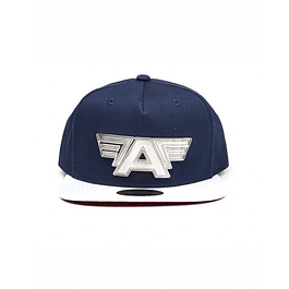 Chapéu Captain America: Civil War Metal Plate Logo