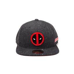 Chapéu Deadpool Metal Badge Logo