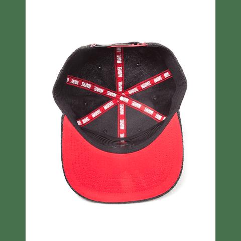Chapéu Deadpool Metal Badge Logo