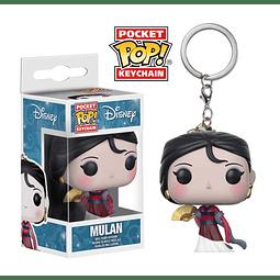 Porta-chaves Pocket POP! Disney: Mulan