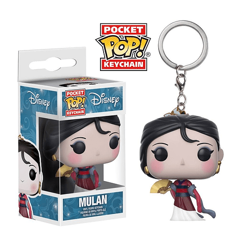 Porta-chaves Pocket POP! Disney: Mulan
