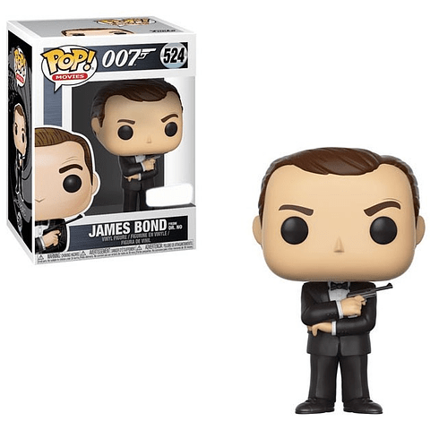 POP! Movies: 007 James Bond from Dr. No