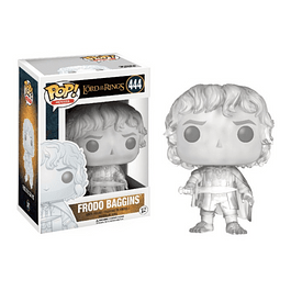 POP! Movies: The Lord of the Rings - Frodo Baggins Invisible Edição Limitada