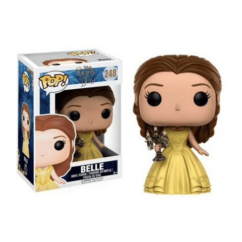 Pop! Disney Beauty and the Beast: Belle with Candlestick Edição Limitada