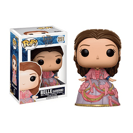 Pop! Disney Beauty and the Beast: Belle with Garderobe Outfit Edição Limitada