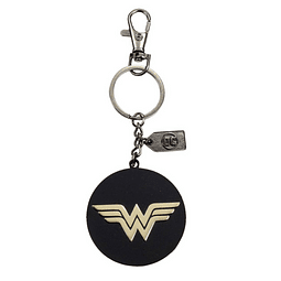 Porta-chaves Wonder Woman Golden Logo