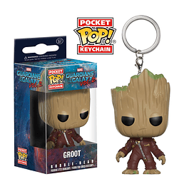 Porta-chaves Pocket POP! Marvel Guardians of the Galaxy Vol. 2: Groot