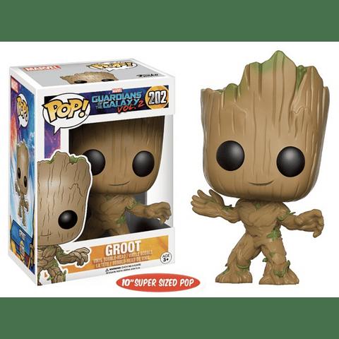 POP! Marvel Guardians of the Galaxy Vol. 2: Life-Size Young Groot Edição Limitada