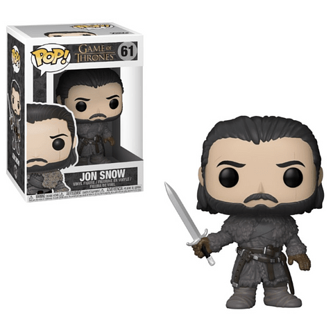 POP! Game of Thrones: Jon Snow Beyond the Wall