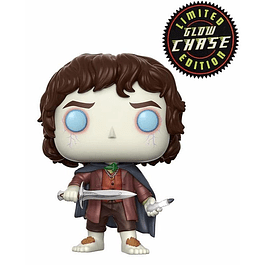 POP! Movies: The Lord of the Rings - Frodo Baggins Glow Chase Edition