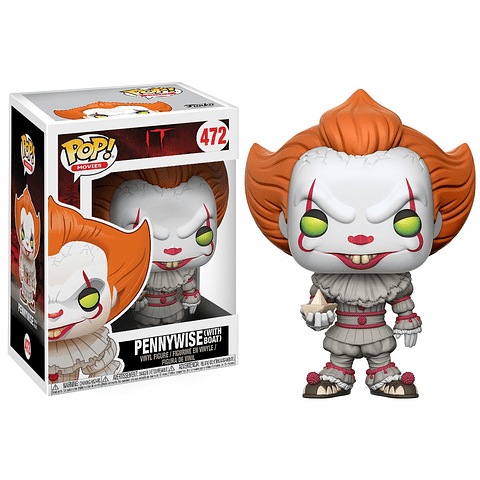 POP! Movies: IT - Pennywise with Boat