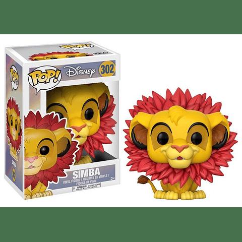 POP! Disney: The Lion King - Simba Leaf Mane