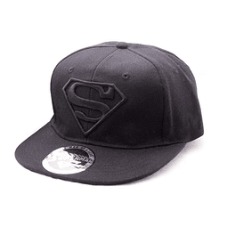 Chapéu Superman Black on Black Logo