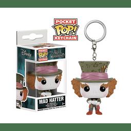 Porta-chaves Pocket POP! Alice in Wonderland: Mad Hatter