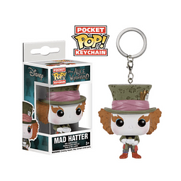 Porta-chaves Pocket POP! Alice in Wonderland: Mad Hatter