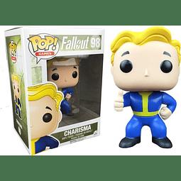 POP! Games: Fallout - Vault Boy Charisma Edição Limitada