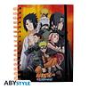 Notebook A5 Naruto Shippuden - Konoha Group