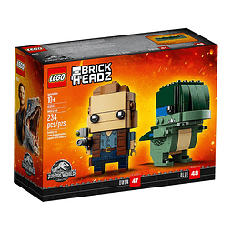 LEGO® BrickHeadz Jurassic World - Owen & Blue