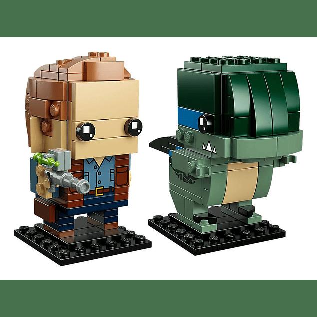 LEGO® BrickHeadz Jurassic World - Owen & Blue