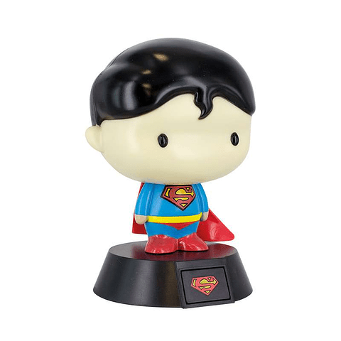 Luz de Presença Superman 3D Character Light