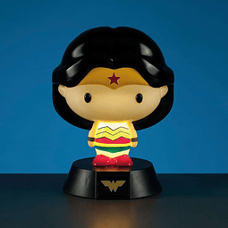 Luz de Presença Wonder Woman 3D Character Light