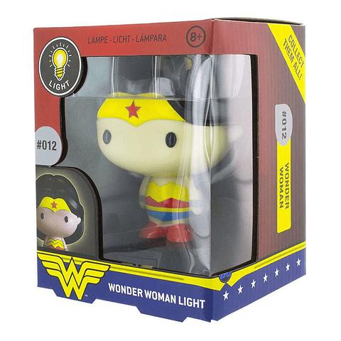 Luz de Presença Wonder Woman 3D Character Light