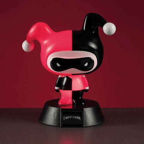 Luz de Presença Harley Quinn 3D Character Light