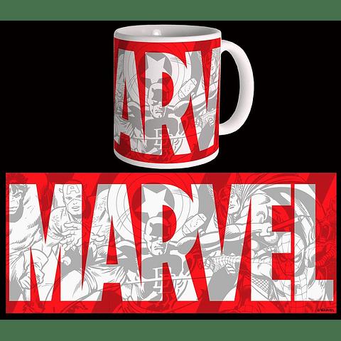 Caneca Marvel Big Logo
