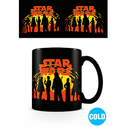Caneca Mágica Star Wars Solo Sunset