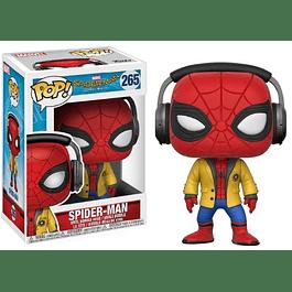 POP! Marvel Spider-Man Homecoming: Spider-Man with Headphones