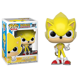 POP! Games: Sonic the Hedgehog - Super Sonic Edição Limitada