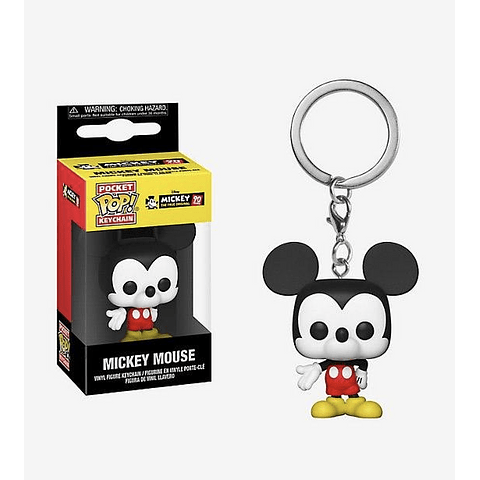 Porta-chaves Pocket POP! Mickey's 90th Birthday: Mickey Mouse