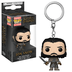 Porta-chaves Pocket POP! Game of Thrones: Jon Snow Beyond the Wall