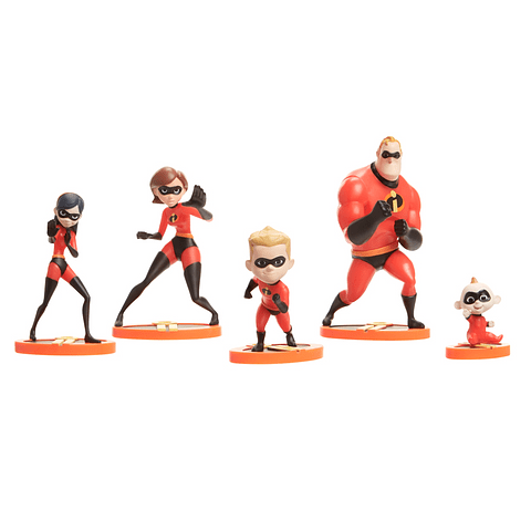Conjunto The Incredibles 2