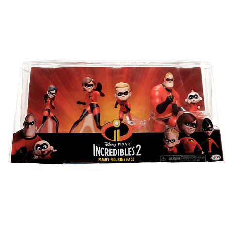 Conjunto The Incredibles 2