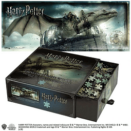 Puzzle 1000 Peças Harry Potter Gringotts Bank Escape