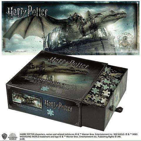 Puzzle 1000 Peças Harry Potter Gringotts Bank Escape