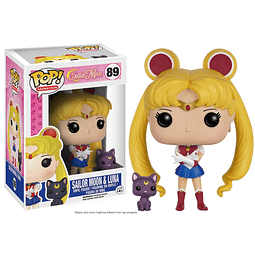 POP! Animation: Sailor Moon - Sailor Moon & Luna