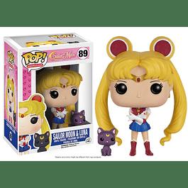 POP! Animation: Sailor Moon - Sailor Moon & Luna