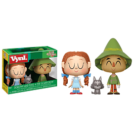 VYNL: The Wizard of Oz - Dorothy with Toto & Scarecrow