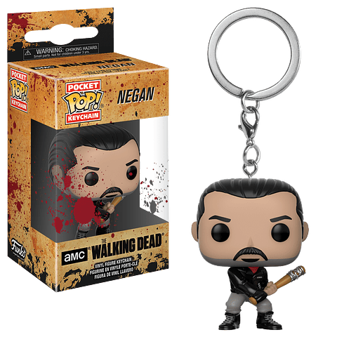 Porta-chaves Pocket POP! The Walking Dead: Negan