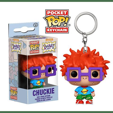 Porta-chaves Pocket POP! Rugrats: Chuckie