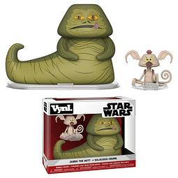 VYNL: Star Wars - Jabba & Salacious Crumb