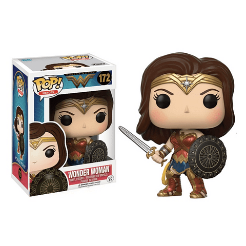 POP! Heroes: Wonder Woman - Wonder Woman