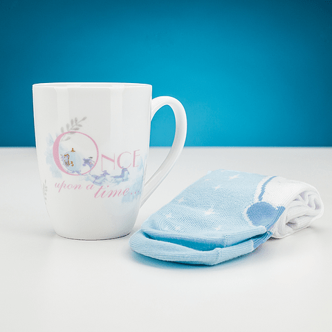 Gift Box Disney: Cinderella Mug and Socks Set
