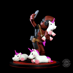 Q-Fig Marvel Diorama Deadpool #unicornselfie