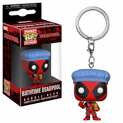 Porta-chaves Pocket POP! Deadpool: Bathtime Deadpool