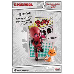 Figura Mini Egg Attack Deadpool Jump Out 4th Wall
